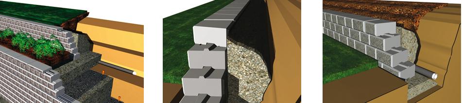 Gls prefabricados de hormig n gls muros for Construir muro de bloques
